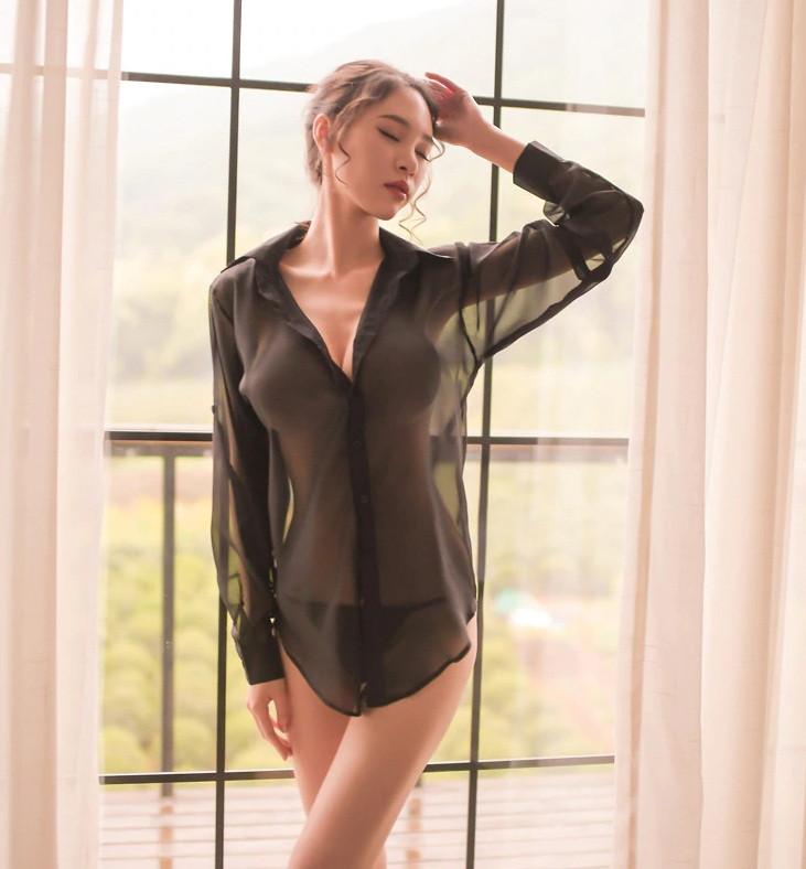 Жіноча сорочка + стрінги