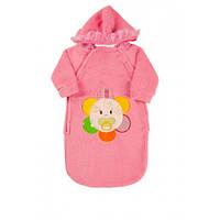 Осенне-Весенний Конверт для новорожденных Kika Toys Розовыйkj3031, КОД: 1880345