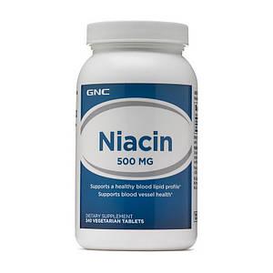 Витамин В3, Ниацин GNC Niacin 500 240 tab