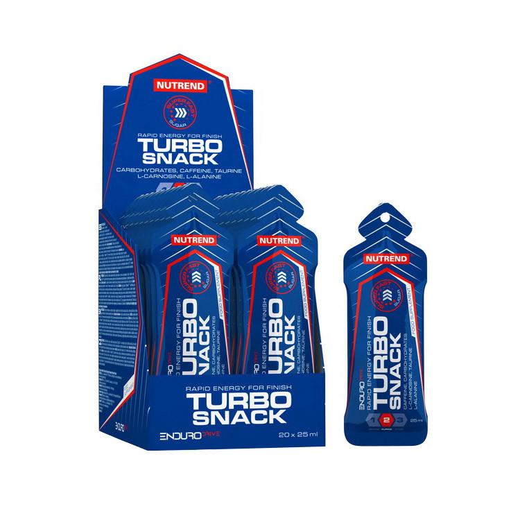 Карбо энергетик Nutrend Turbo Snack 20*25 ml