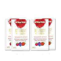 Пробник массажного масла с феромонами MAI PHEROMON MASSAGE OIL RED FRUITS (10 мл)