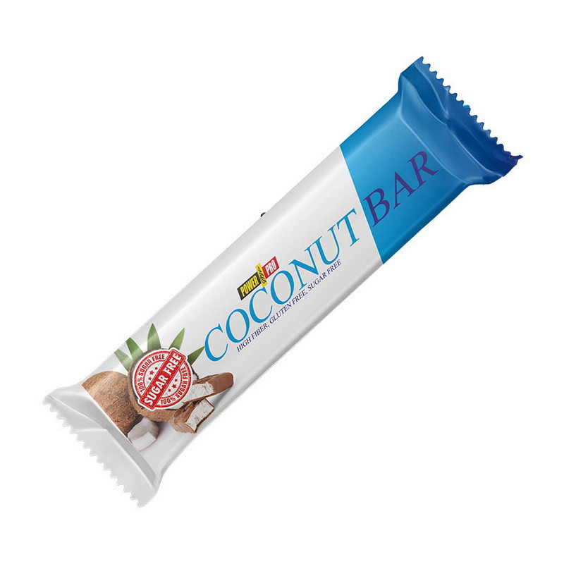 Углеводный батончик Power Pro Coconut Bar 50 g
