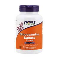Глюкозамин сульфат NOW Glucosamine Sulfate 750 mg 120 veg caps