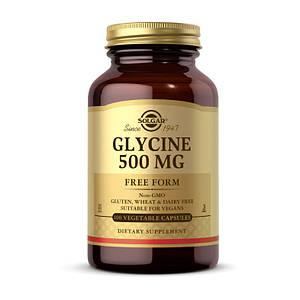 Глицин Solgar Glycine 500 mg 100 veg cap