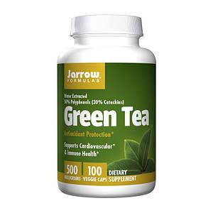 Зеленый чай Jarrow Formulas Green Tea 500 mg 100 veg caps