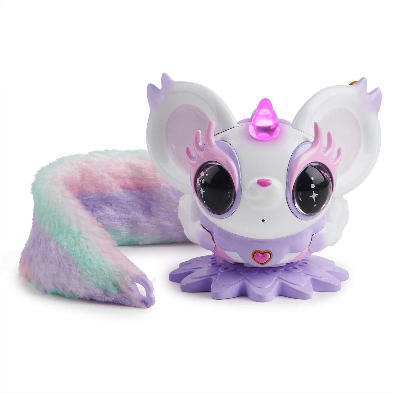 Интерактивная игрушка Эсми WowWee pixie pelles Esme белая с фиолетовым музыкальная