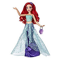 Кукла русалочка Ариель Стиль с ресничками DIsney Princess Style Series Ariel in Contemporary ариэль