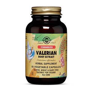 Валериана Solgar Valerian Root 500 mg 60 veg caps