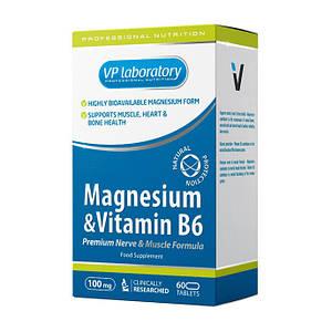 Магний с витамином В-6 VP Lab Magnesium & Vitamin B6 60 tab