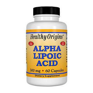 Альфа-липоевая кислота Healthy Origins Alpha Lipoic Acid 300 mg 60 caps