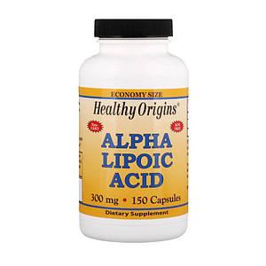 Альфа-липоевая кислота Healthy Origins Alpha Lipoic Acid 300 mg 150 caps