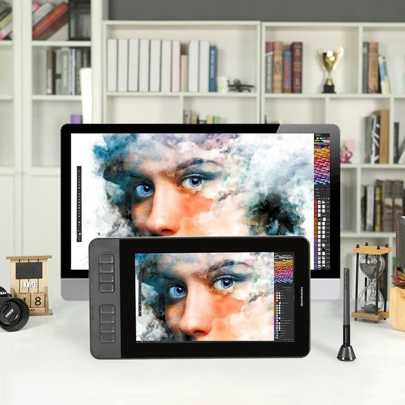 Графический  монитор планшет GAOMON PD1161, 11.6 дюймов, пассивный стилус, 8 экспресс-клавиш Гарантия 12 мес.