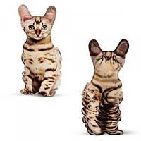 Игрушка-подушка Бенгальская кошка PT3D-02