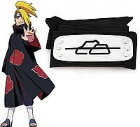 Повязка Наруто Naruto Акацуки - Дейдара из Деревни Скрытой В Камне, cosplay Naruto