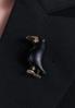 Брошь бижутерия брошка черный ворон ворона птица, фото 4