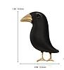 Брошь бижутерия брошка черный ворон ворона птица, фото 5