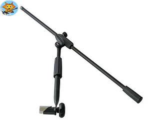 Стойка для микрофона для клавишной стойки Bespeco Clampsx
