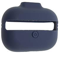 Чехол силиконовый Aare с ремешками для наушников AirPods Pro Синий 00007697, КОД: 1536400