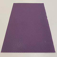Цветная вощина для изготовления свечей, лист 41х26 см, сиреневая