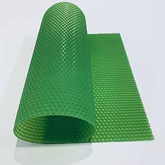 Цветная вощина для изготовления свечей, лист 41х26 см, зеленая