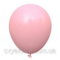 """Латексные воздушные шарики 10"""" Baby pink розовый бледный 100шт/уп KL10-74 Kalisan"""