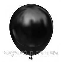 """Латексные воздушные шарики 10"""" Black черный 100шт/уп KL10-83 Kalisan"""