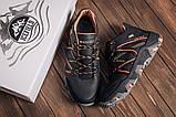 Чоловічі чорні зимові шкіряні черевики, фото 3