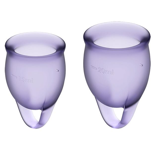 Набор менструальных чаш Satisfyer Feel Confident Violet