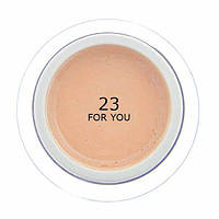 Гель для наращивания ногтей FOR YOU №23  Персиковый, 15 мл