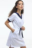 Платье медицинское женское In White 130 44 Белое, КОД: 1857099