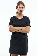 Платье медицинское женское In White 402 44 Черное, КОД: 1857163