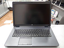 """Asus HP ZBook 17 / 17,3"""" (1920x1080) / Intel Core i7-4700MQ (4(8) ядра по 2.4 - 3.4 GHz) / 8 GB DDR3 / 240 GB, фото 2"""