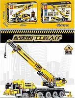 Конструктор «Строительный кран» Technic Sembo block 701800