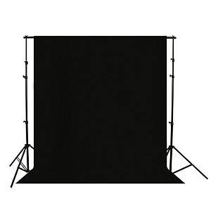 Фотофон коттоновый черный 3000 см(Ш)×2000 см(Д) (CA2023 B)