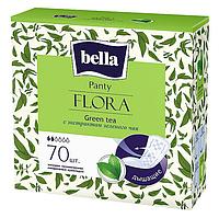 """Щоденні прокладки Bella Panty Flora """"Green Tea"""", 2 краплі (70шт.)"""