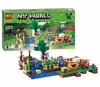 """Конструктор Bela 10175 (79044) """"Minecraft. Ферма"""", 262 дет"""