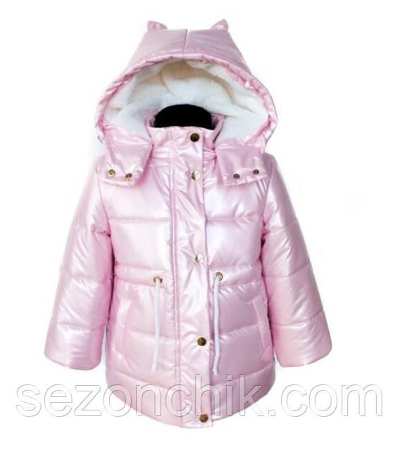 Модные зимние детские куртки и пуховики