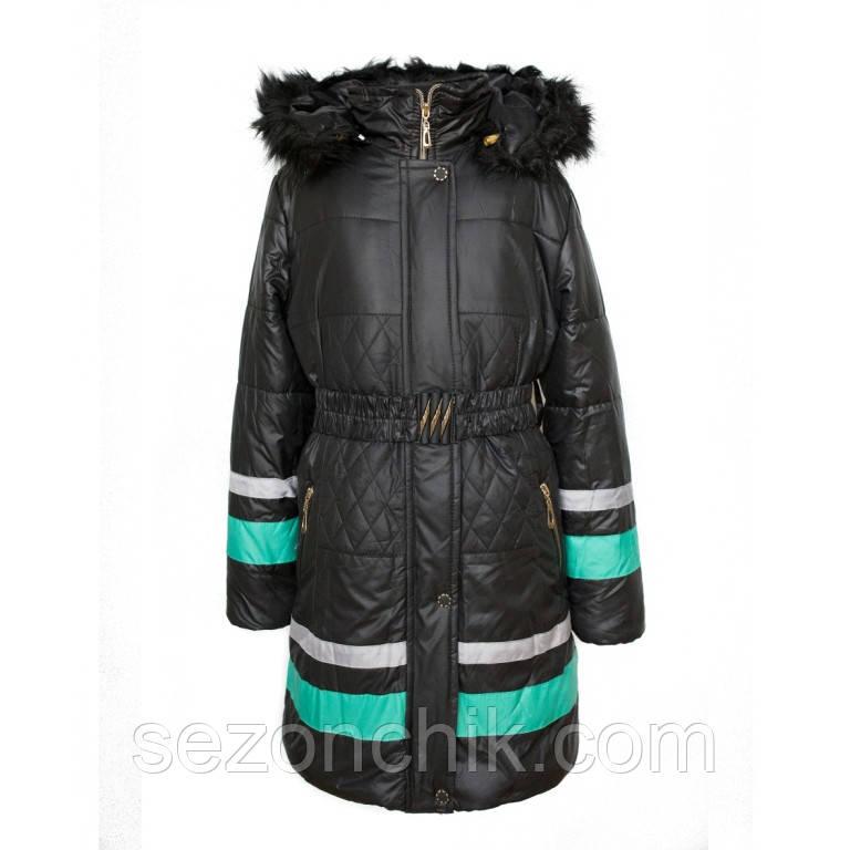 Куртка на зиму удлинённая от производителя