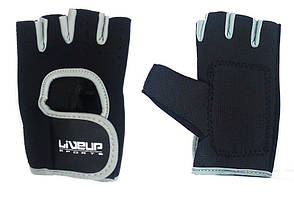 Перчатки LiveUp Training Gloves Black-Grey (LS3077-LXL)