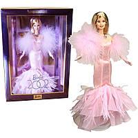Коллекционная Кукла Барби Юбилей 2002 года в пышном розовом платье, перчатки, ожерелье - Barbie 2002 Collector, фото 1