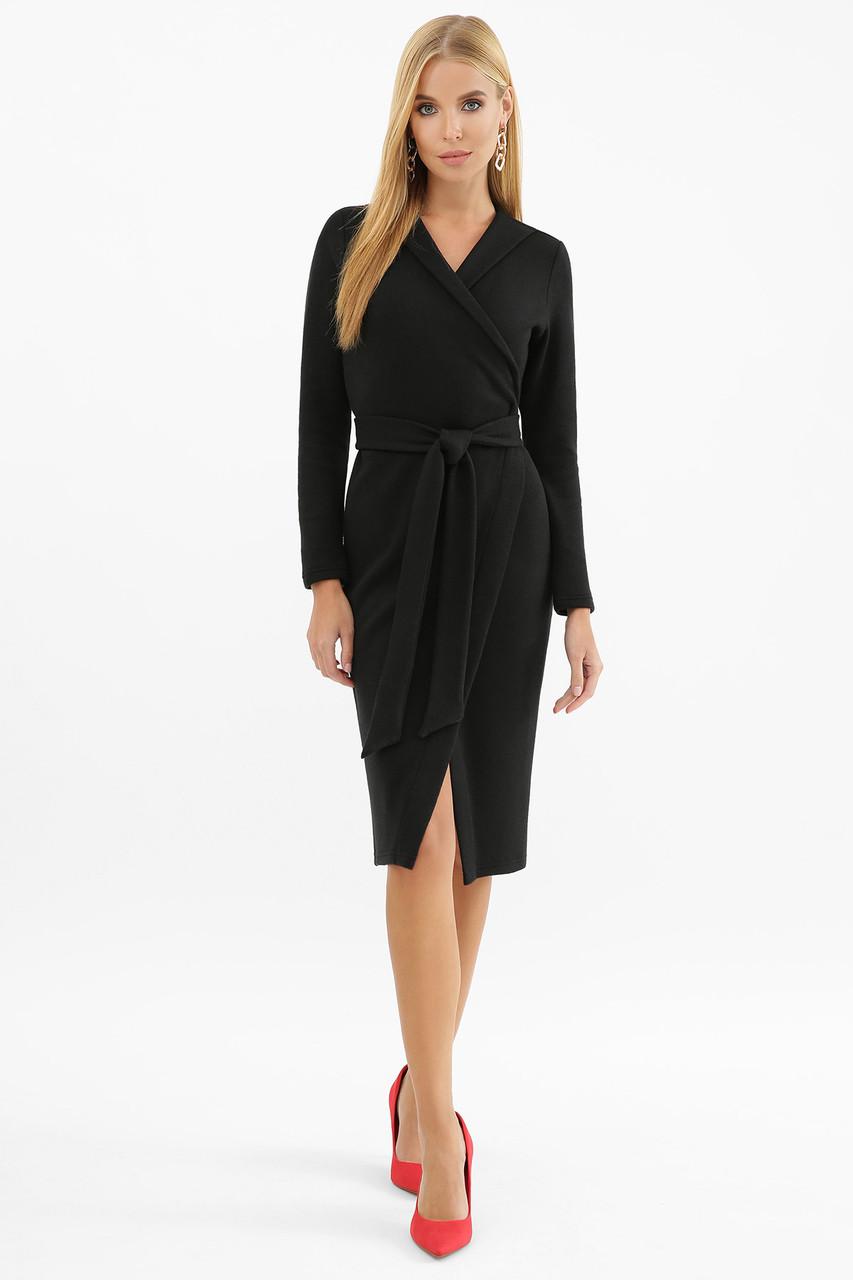 Стильне тепле чорне плаття з ангори, розмір S, M, L, XL