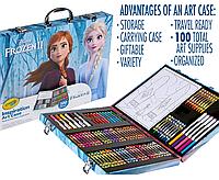 Набор принадлежностей для рисования Холодное Сердце 2 Frozen 2 Inspiration Art Case Crayola 04-0594