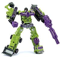 Робот-комбайнер, Hai Bao Xing, Девастатор, 6в1, 21 см - Transformer-Combiner, Devastator, Hai Bao Xing