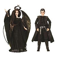 Куклы Малефисента и Диаваль а в наборе оригинальные