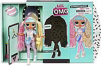 Игровой набор Большая Кукла-модель ЛОЛ ОМГ Бон-Бон с 20 сюрпризами - LOL Surprise! OMG Candylicious Fashion, фото 1