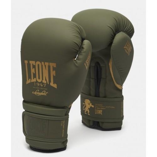 Боксерские перчатки Leone Mono Military 10 ун.