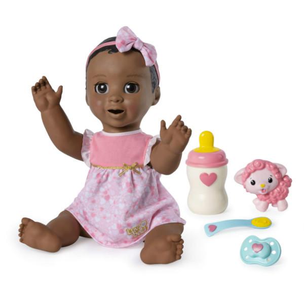 Luvabella Интерактивная реалистичная кукла Лувабелла темнокожая 6044113 Doll Dark Brown Hair
