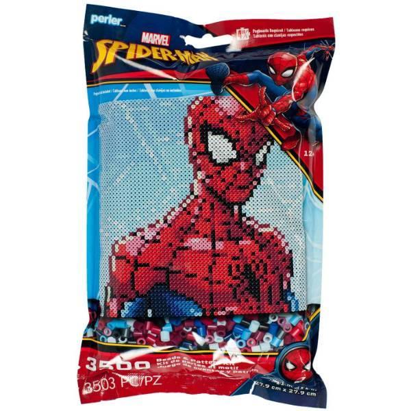 Perler Термомозаіка Перлер 3503 намистинок людина павук 80-11122 Spiderman Marvel Pattern and Fuse Bead Kit