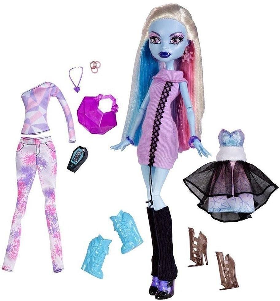 Monster High Эбби Боминейбл Я люблю моду Abbey Bominable I Love Fashion