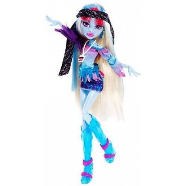 Monster High Эбби Боминейбл Музыкальный фестиваль Y7695 Music Festival Doll Abbey Bominable